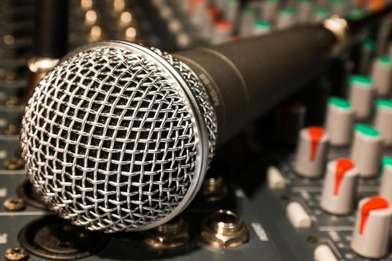 Stort utvalg av mikrofoner