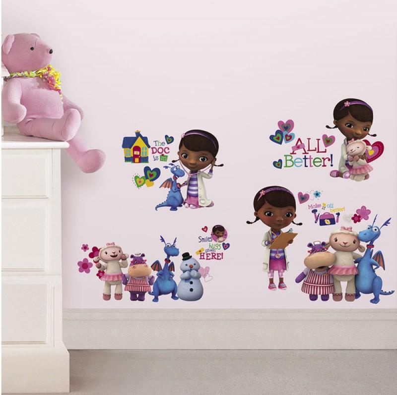 Flotte wallstickers for barnerommet